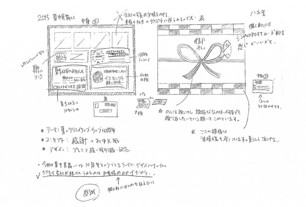 八木さんラフ