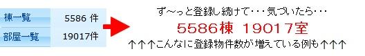 物件登録数